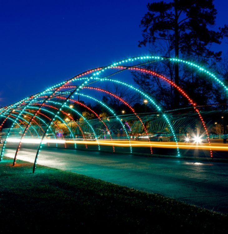 South Carolina Holiday Light Displays